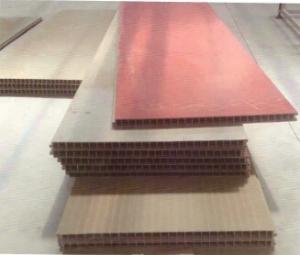 秸稈纖維中空隔墻板