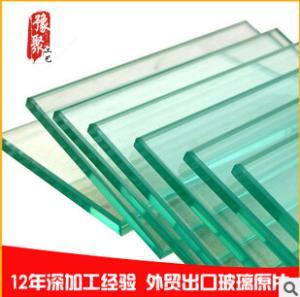 厂家供应5mm8mm透明钢化玻璃10mm12mm建筑钢化玻璃定做深加工