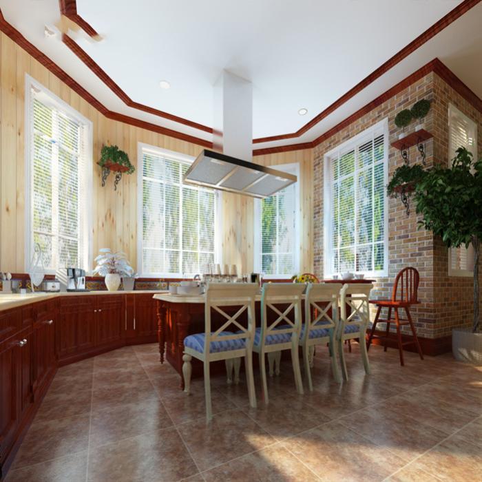 客厅仿古砖直角哑光地砖
