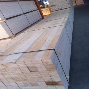 供应免熏蒸杨木木方LVL 最长9.6米 宽厚任意免熏蒸木
