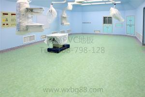 江苏同质透心塑胶地板厂家,博高抗菌防霉同质透心pvc地板