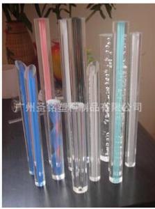 有机玻璃厂家加工批发 亚克力棒材 异型棒材 高透明亚克力棒材