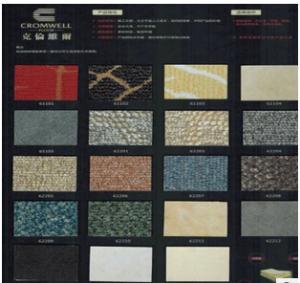 克伦威尔 高级PVC地板,大理石/地毯纹