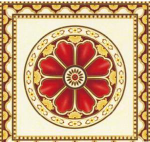 红翻天拼花抛晶砖1600X1600 客厅艺术拼图抛晶砖 创意花纹抛晶