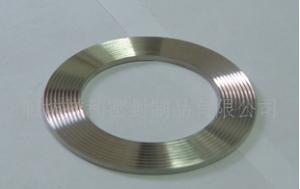 金属齿形垫 金属波齿垫片 304齿形垫