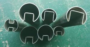 不锈钢凹槽管