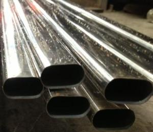 不锈钢平椭圆管