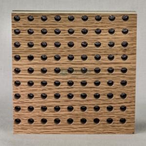 供应吸音板 墙面装饰材料 卧室 影视厅装修材料孔木吸音板厂家