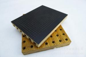 大小孔微孔吸音板,微孔吸音板,孔木吸音板,木质吸音板