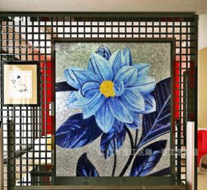 专业制作各类风景人物花卉马赛克剪画 来样订制加工