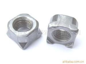 本厂专业生产销售DIN928德标四方焊接螺母M8
