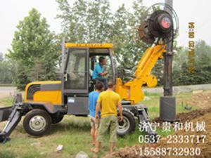 出售轮胎式旋挖机