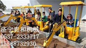 儿童挖掘机_儿童旋挖机游乐项目
