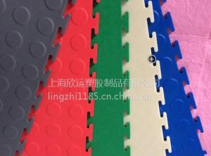 直销塑料PVc锁扣地板暗扣锁边地板