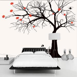 无缝墙纸墙布卧室沙发电视背景墙壁画厂家个性定制一件代发XD-018