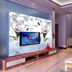 无缝墙纸 墙布 壁画 3D电视背景墙客厅卧室 厂家个性定制一件代发