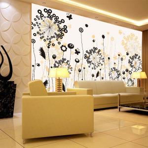 无缝墙纸墙布 卧室客厅电视背景墙 大型壁画厂家个性定制一件代发