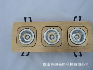 LED射灯丨天花灯客厅餐厅卧室过道天花板丨银色外