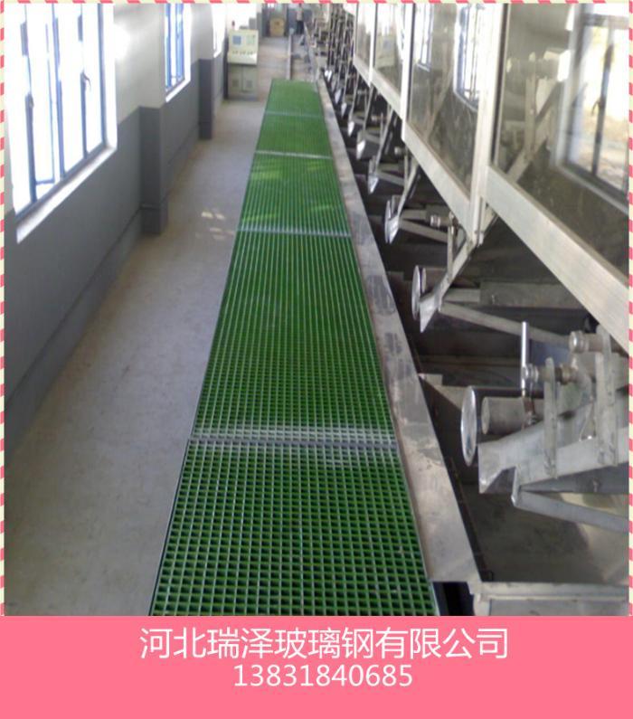 現貨污水處理廠格柵,防滑格柵承載大