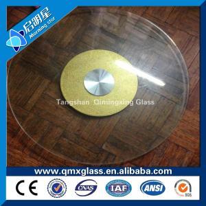 钢化玻璃圆桌面