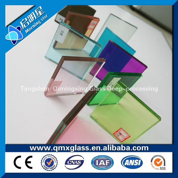 多色镀膜玻璃