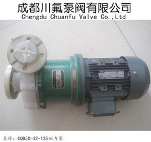 供应CQB50-32-125磁力驱动离心泵氟塑料磁力泵耐酸碱化工泵成都