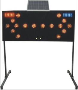 太阳能导向牌 交通导向牌 施工导向灯