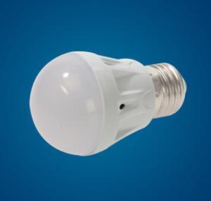 现货供应 LED塑料球泡灯泡 LED家用节能灯泡 E27螺口 3W 5W可调光