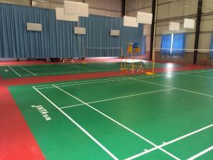 劲踏牛皮纹羽毛球乒乓球篮球排球pvc塑胶运动地胶地板