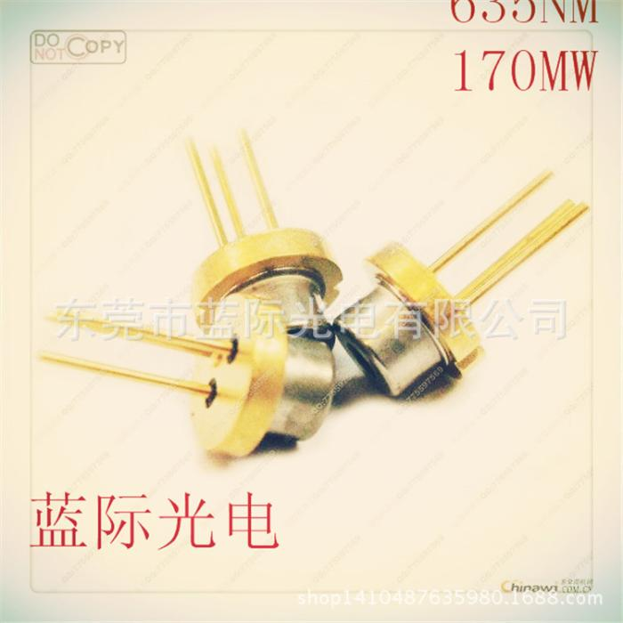 专业三菱红光635nm 170mw激光二极管 LD 日本厂家全新进口激光管