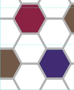 美之炫现代几何图案背景墙