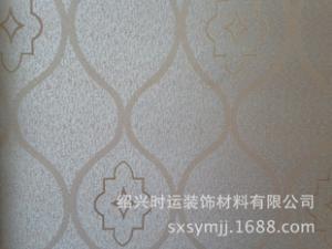 欧式提花高档无缝墙布墙纸壁画防水织女星工程壁布