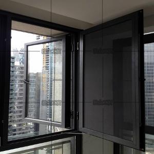 重庆坚美普铝铝合金平开50门窗