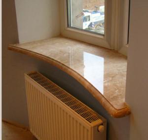 精品奢华家庭装修—天然大理石窗台板