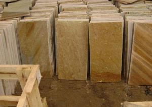 工装—天然黄木纹石材