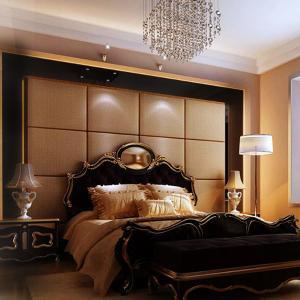 软包背景墙面欧式软包硬包定做卧室床头软包电视背景墙硬包皮革