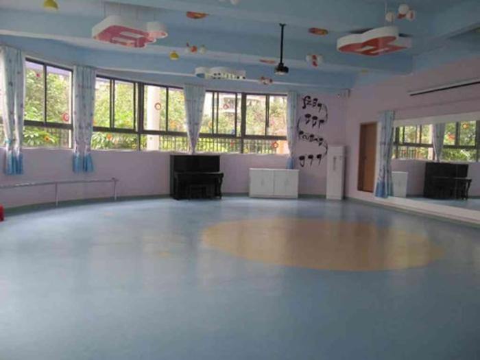 江苏舞蹈房防滑塑胶地板,博高儿童舞蹈教室地胶