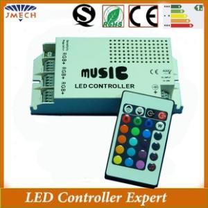 音樂控制器 Music控制器 LED燈具控制器 紅外24鍵控制器led控制器