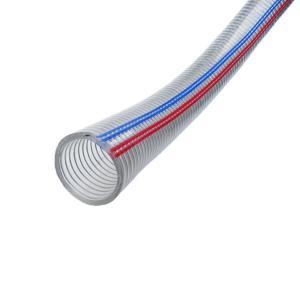 供应河南50*4.5钢丝管 透明钢丝管 透明钢丝软管 PVC软管
