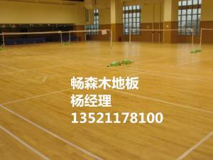 海南省实木运动木地板生产厂