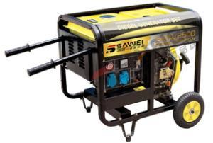2kw小型柴油发电机 发电机 家用小型柴油发电机
