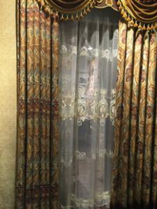 北京酒店遮光窗帘纱帘卧室窗帘定做阻燃窗帘别墅窗帘定做高档窗帘