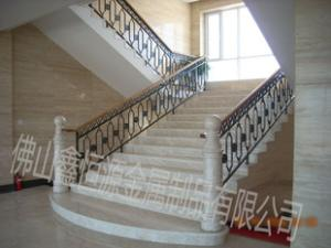 供应鑫恒源铁艺楼梯扶手、金属楼梯扶手、室内楼梯扶手