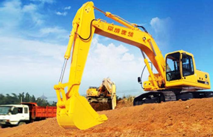 挖掘机   平成建筑租赁