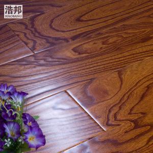 浩邦实木复合地板 原木正品