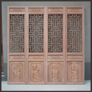 北京厂家订制仿古木质古建门窗