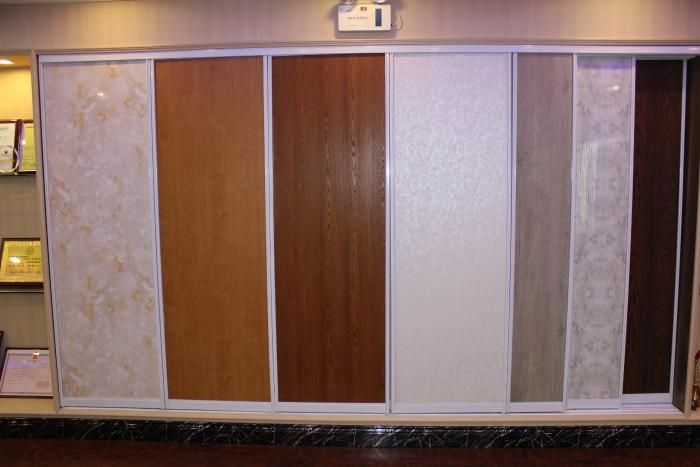 竹木纤维板材 集成墙饰