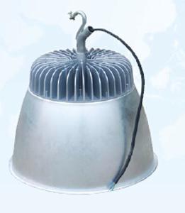 索田牌LED工矿灯GK302-LED150W厂房、超市、侯车停等吊装用3万小时超长寿命,显色指数70一体化压铸散热好、光效90lm/w质保2年无频闪高效节能