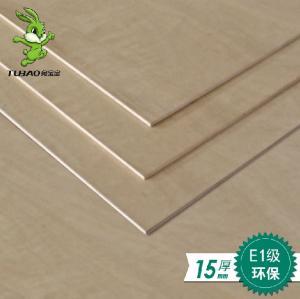 兔宝宝板材 E1级15mm 柳桉芯多层板 胶合板 十五厘板 衣柜背板
