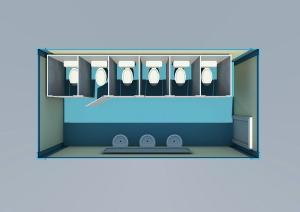 卫浴集装箱房